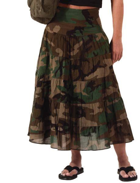 woodland camo skirt camouflage skirts
