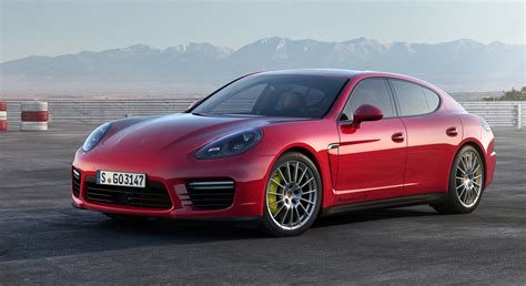 Red Porsche Panamera 65 Wallpapers Hd Desktop Wallpapers