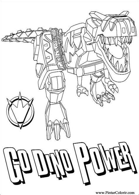 power rangers para colorear e imprimir dibujos para pintar y color power rangers dise 241 o de