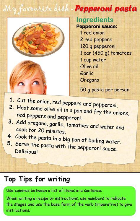 a recipe learnenglishteens