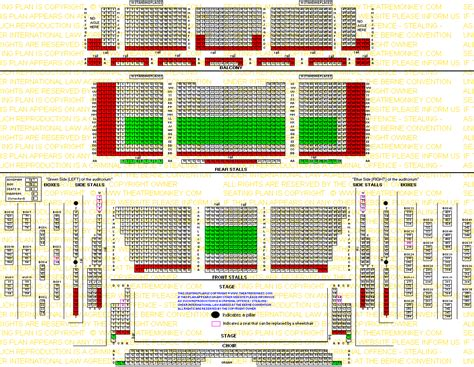royal festival hall floor plan stall seats