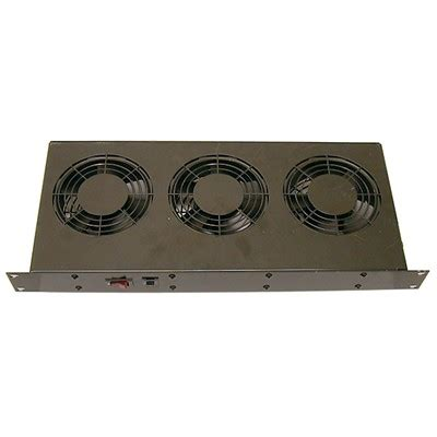 ft300ha1bk rack mount fan tray 300 cfm 115v