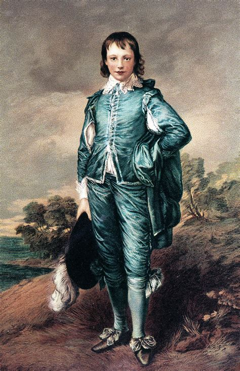 blue boy painting 1700s the blue boy painting painting by vintage images