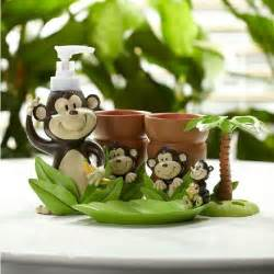 Monkey Bathroom Accessories New Arrival Fancy Lovely Monkey Pattern Bathroom Accessories Beddinginn