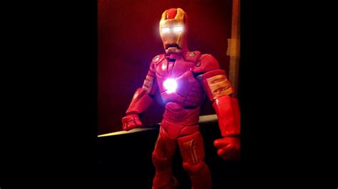 iron man transformation claymation version youtube