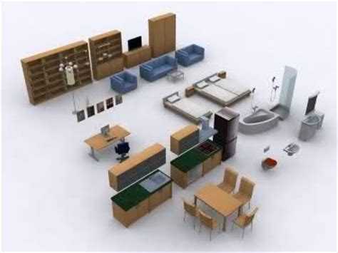 Paper Craft Furniture - dollhouse furniture paper models and furniture collection