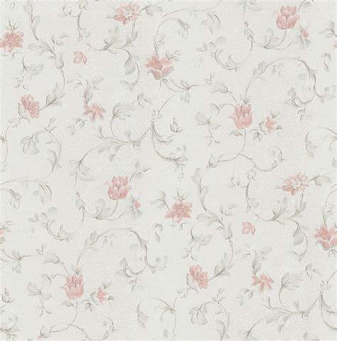 Bedroom Wallpaper Texture Tian Yuanqing New Flowers Embossed Textured