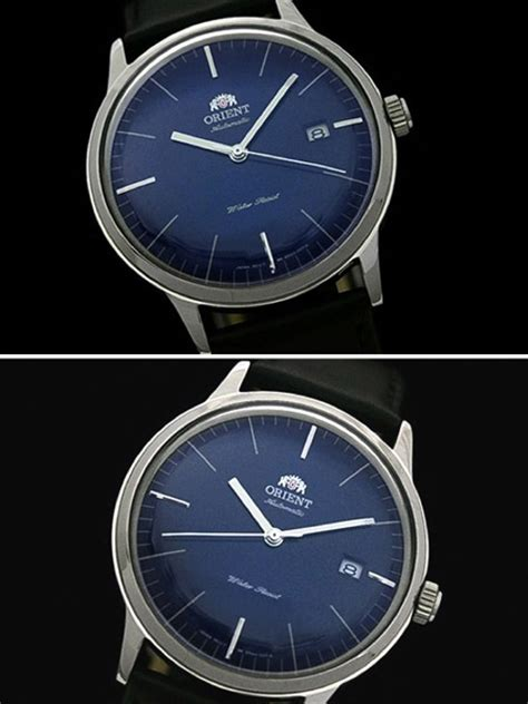 Orient Bambino Automatic Blue orient bambino version 3 automatic dress with blue