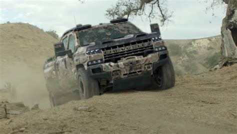 2020 Chevrolet Silverado Hd Teased by 2020 Silverado Hd Teased As Chevy Zh2 Truck Gm Authority