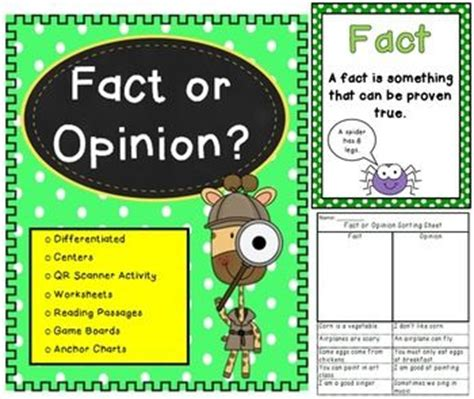fact and opinion picture books fact or opinion pack fiction books comprehension and