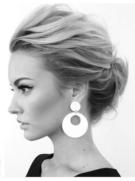 easy and simple hairstyles for office 20 easy updo hairstyles for medium hair pretty designs