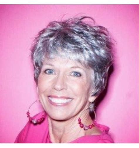 short grey hair for 40s women pinterest 17 best images about hairstyles for over 60 s on pinterest
