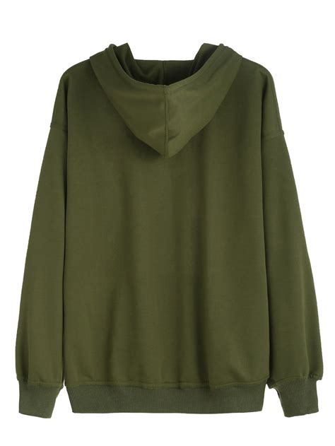green hoodie womens trendy clothes