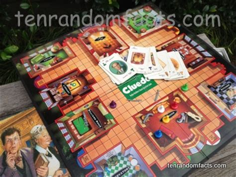 what are the rooms in cluedo cluedo ten random facts