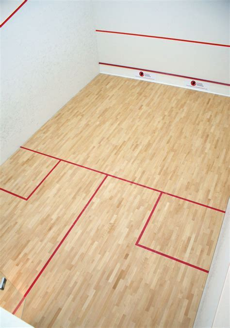 Squash court cleaning, squash court maintenance, squash