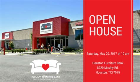 Furniture Bank Houston by Houston Furniture Bank Open House