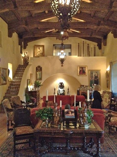 mexican home decorations hacienda style with beautiful spanish combinations of