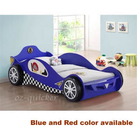car cing bed kids racing car bed single size 3dwheel children bedroom