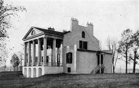 the monroe house file oak hill james monroe house rear view 1915 jpg