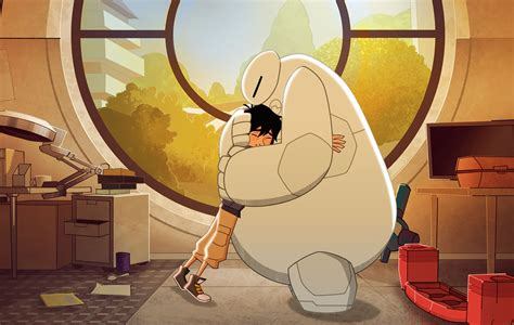 the series big 6 tv series potter on baymax returns