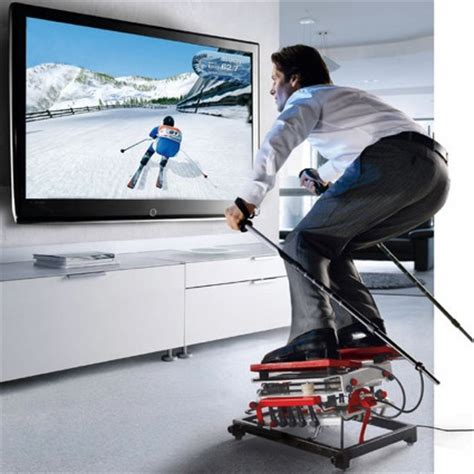 SkiGym Beats Wii Ski For Realism, Simulated Danger   Gizmodo Australia