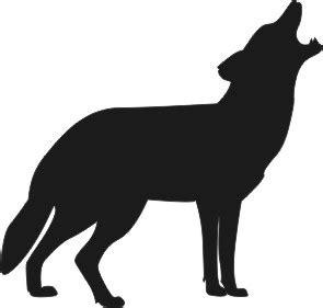 Aufkleber Heulender Wolf by Birk Werbetechnik Artikeldetailausgabe Heulender Wolf