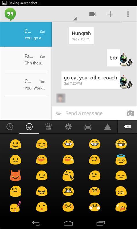 emoji google keyboard hangouts app getting crashed from emoji bug google