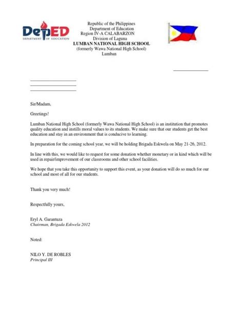 11 solicitation letter for donation phoenix officeaz