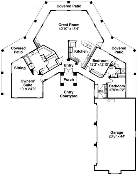 santa fe house plans santa fe style home designs find house plans