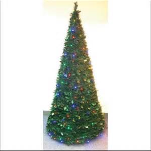 opentip com pull up christmas tree w led lights 6