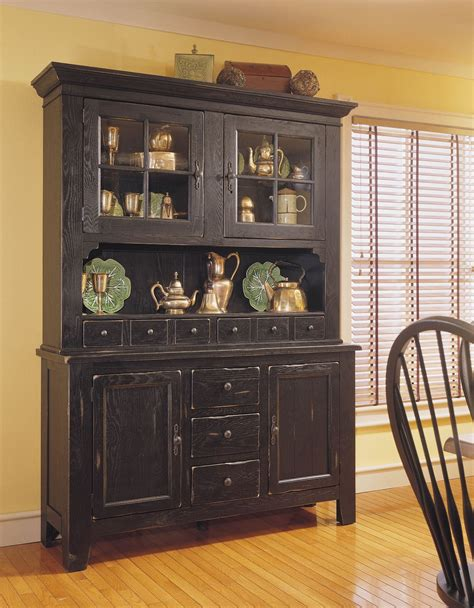 black china hutch cabinet attic heirlooms antique black china cabinet from broyhill