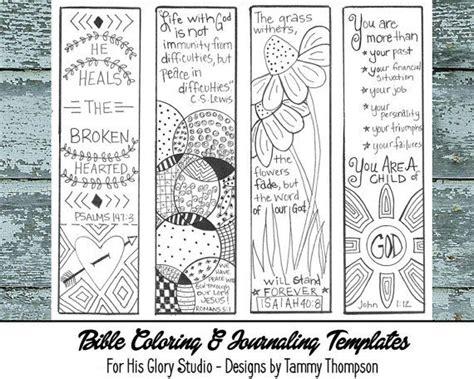 printable bible bookmarks to color bible journaling encouraging 3 bible journaling black