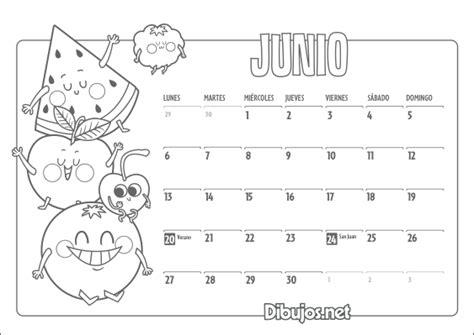 Calendario Por Años Im 225 Genes De Calendarios Mes De Junio 2016 Para Descargar E