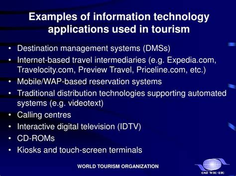 ppt e tourism electronic commerce strategies for development promoting an international