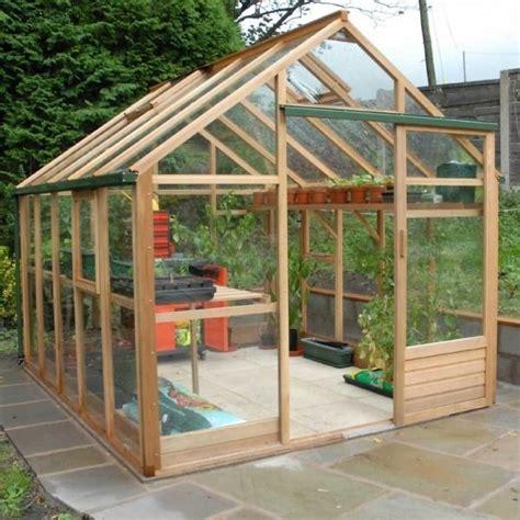 serre in legno da giardino come costruire una serra pergole tettoie giardino