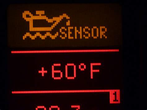 oil level sensor orange warning light question vag