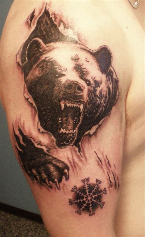 skin gallery tattoo angry skin rip on shoulder tattooimages biz