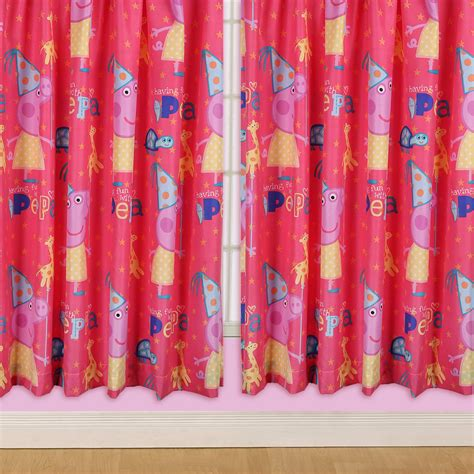 character curtains kids disney and character curtains 54 72 inch drop