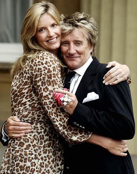 About Damn Time Rod Stewart Are Officially Divorced by Why Should It Just Be Who Go For Younger It S