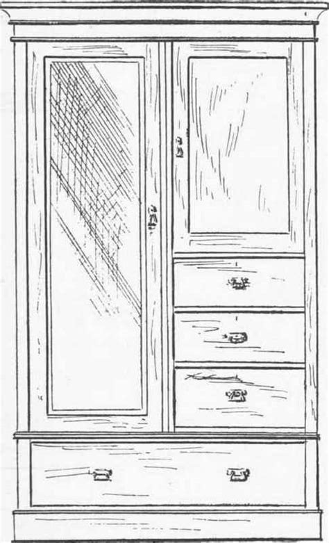 Wardrobe Drawing Software by Working Drawing Of Wardrobe Free Pdf Woodworking