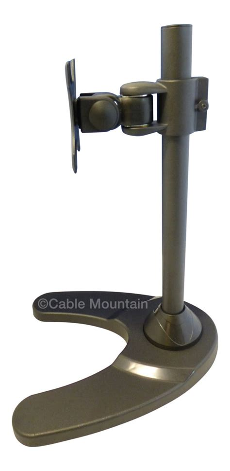 Through Desk Monitor Mount by Freestanding Bolt Through Or Monitor Desk