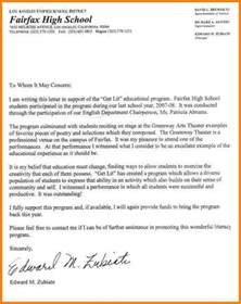 11 scholarship recommendation letter for high school