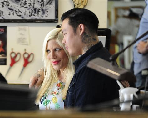 zimbio tattoo quiz tori spelling photos photos tori spelling visits