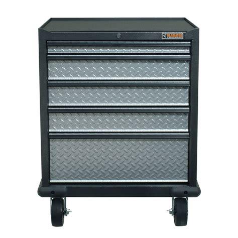 Gladiator Premier Series Pre Assembled 35 In H X 28 In W Rolling Garage Storage Cabinet