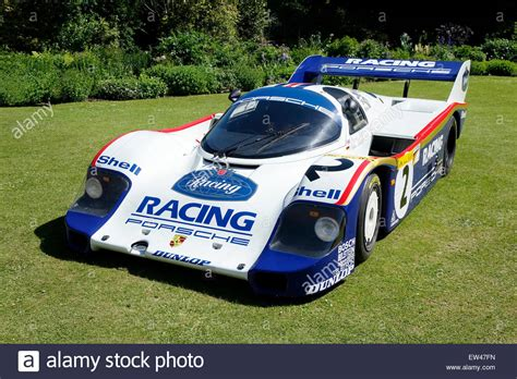 vintage porsche race car rothmans sponsored 1983 porsche 956 racing car at wilton