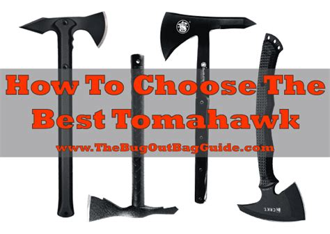 best tomahawk for survival preppers survival self defense best survival weapons