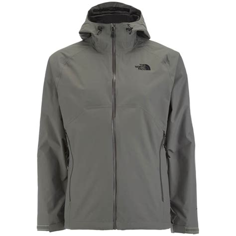 stratos boats clothing the north face men s stratos jacket fusebox grey