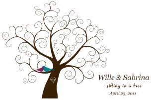 Wedding Family Tree Template by Downloadable Fingerprint Tree Guestbook Offbeat
