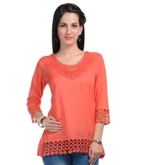 top design u f orange neck design top buy u f orange neck design