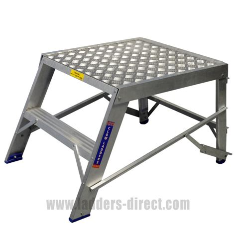 aluminum step bench clow heavy duty aluminium step bench